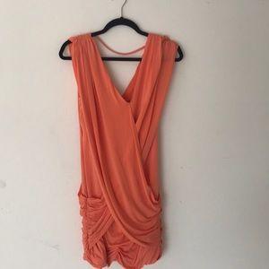 Gorgeous X wrap dress